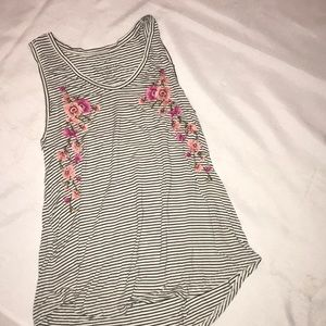 Embroidered American Eagle Tank Too